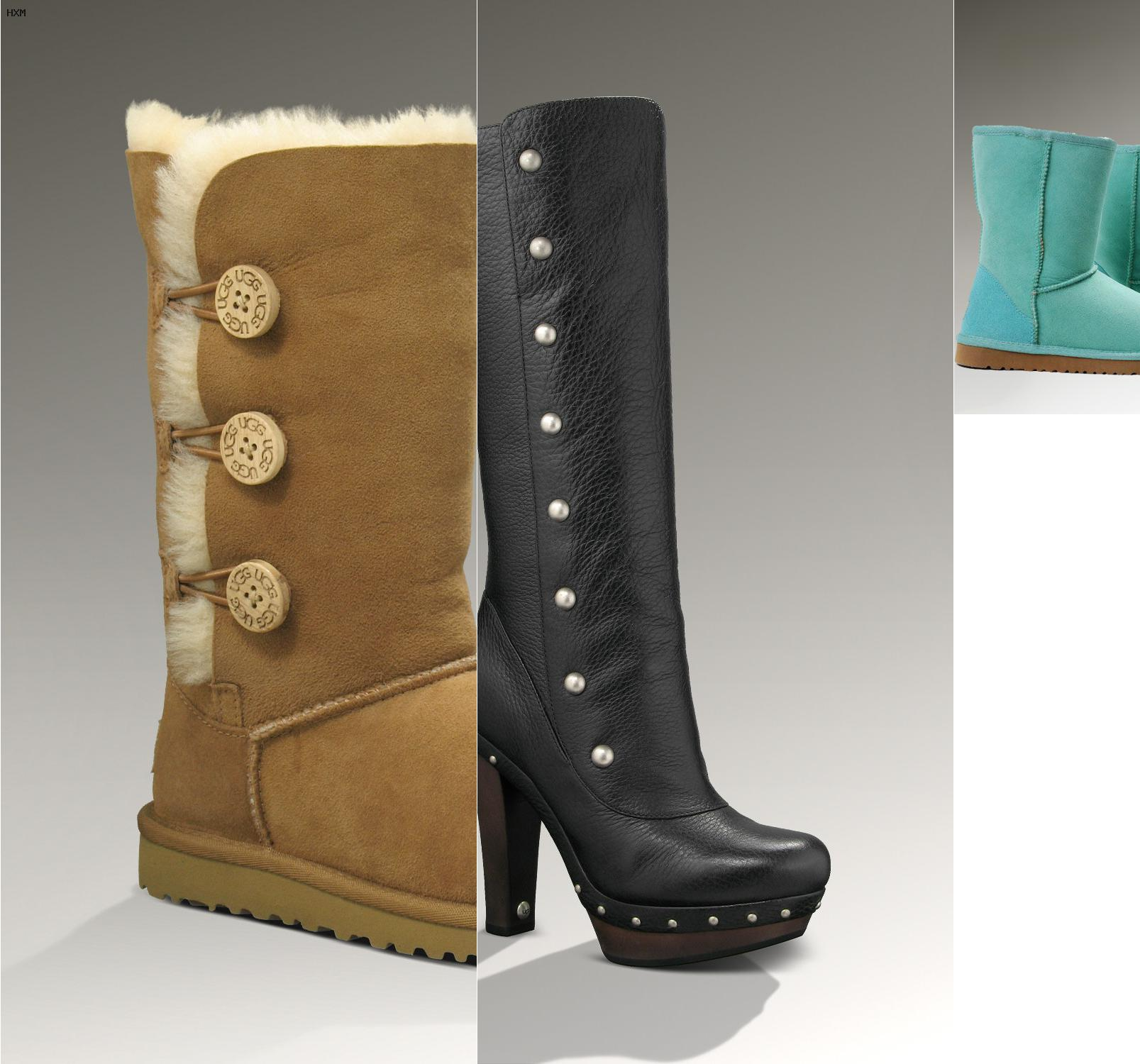 ugg fringe ankle boots